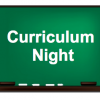 High school curriculum night – Tuesday, Jan. 17th