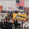 Cazenovia Girls' Winter Track Claims B1 Championship