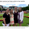 Student musicians tour Europe, perform in four countries