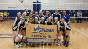Volleyball Section Champs 2015