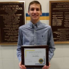 LaBarre Selected as Lions Club Student of the Month