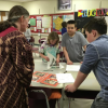 Middle School French Students Learn about African Career Opportunity