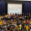 Character Ed Assembly at Burton Street