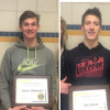 Borio and Olkowski Named Lions Club Students of the Month